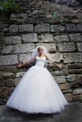 Венгерское свадебное платье