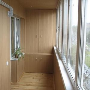 Изготовление корпусной мебели для балконов и лоджий.