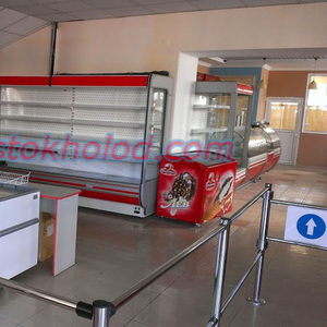 Холодильные регалы (встроенный холод).