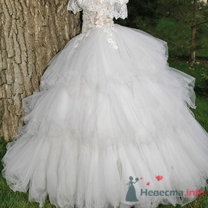 Свадебное платье Белый Лебедь