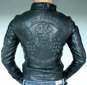Продаётся кожанная куртка Ed Hardy Christian Audigier