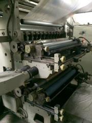 Флексопечатная машина бу 95 г.в.,  BIELLONI 1600мм 4 цвета с валами